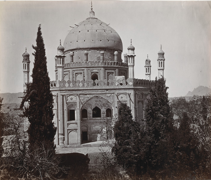 Ahmed Shah's Tomb from Kirka Sharif [Kandahar].